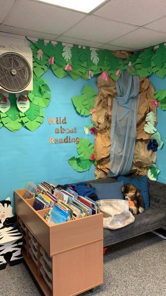 Leopard Class reading area