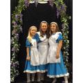 The Three Alices: Small, Medium & Tall!