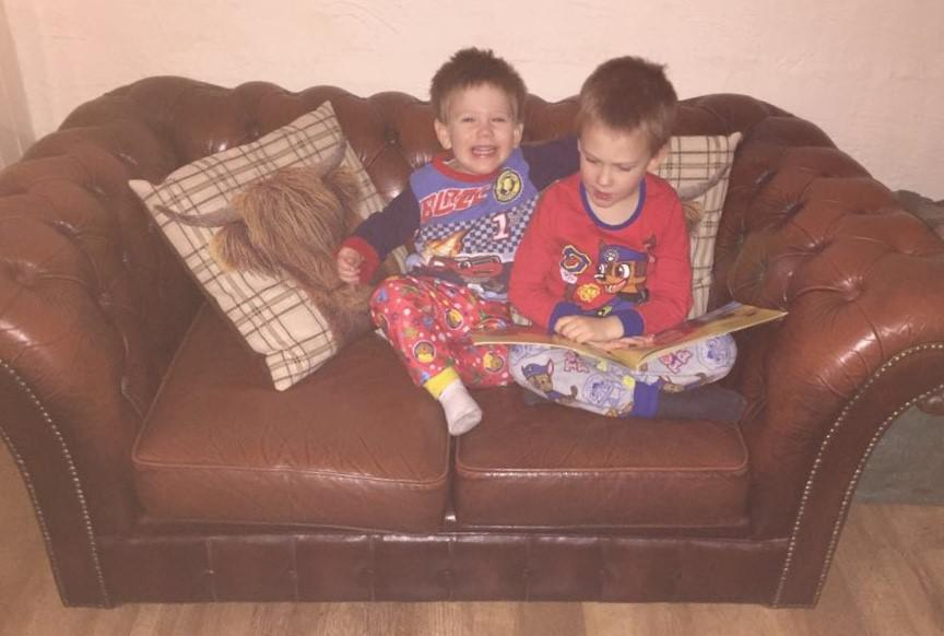 Reading to some one younger