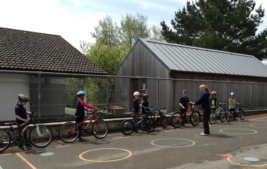 Year 4 children in Avocets class have enjoyed taking part in a Bikeability course today