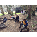 March - We enjoy our outdoor learning