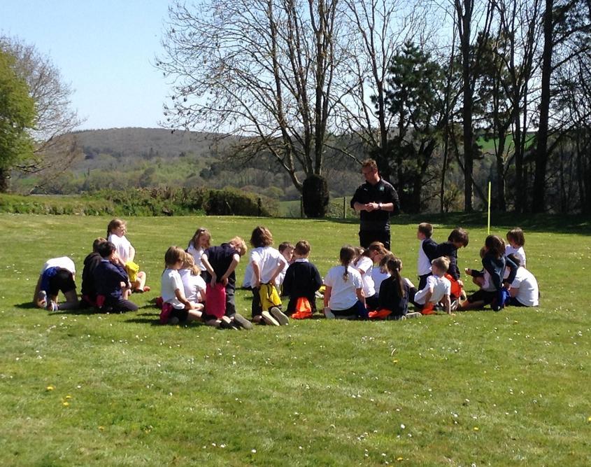 PE with Plymouth Argyle Coaches