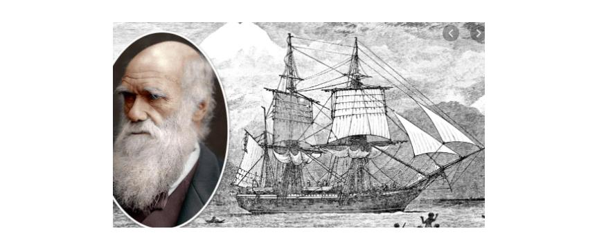 Darwin and HMS Beagle