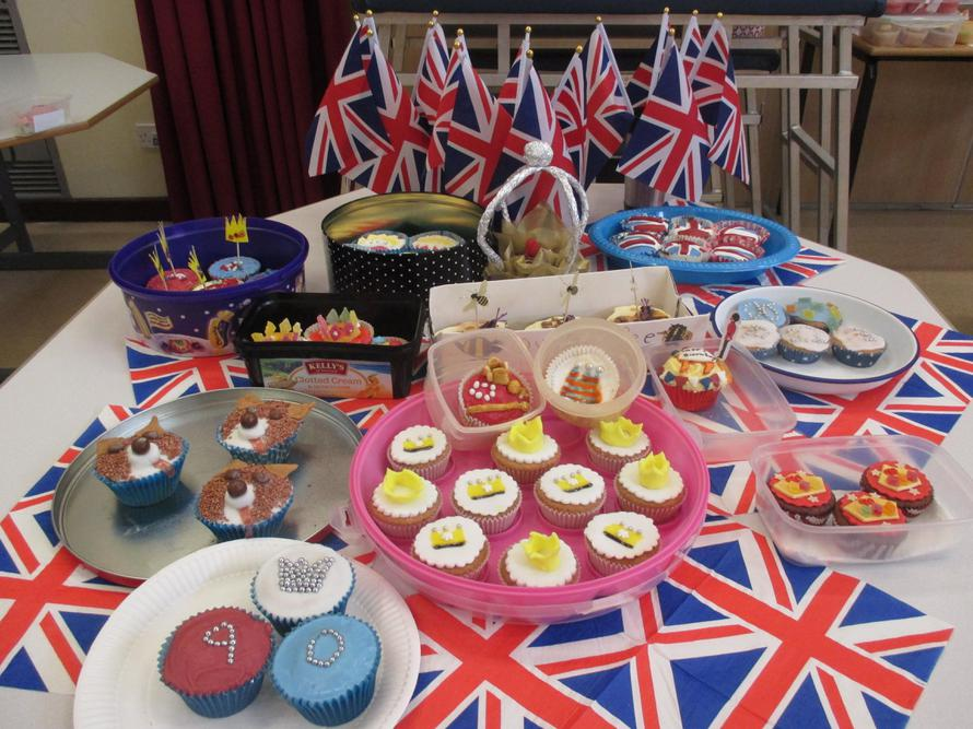 Look at some of the Royal themed cakes we made!