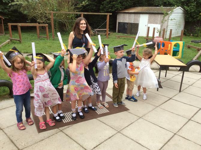 Preschoolers Graduation