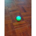 Hello green robot!