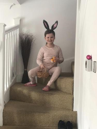Ava at Easter