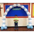 Nathaniel, KS1 Peace Prize
