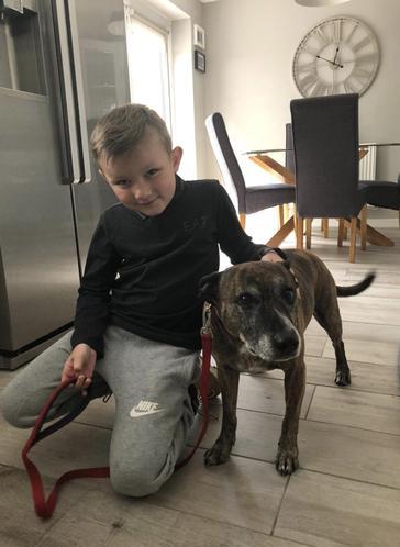 Oscar & his lovely dog