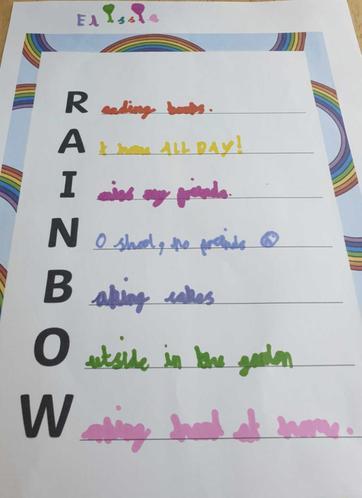 Elissia's rainbow poem