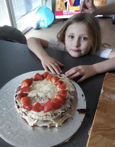 Eve's red velvet cake