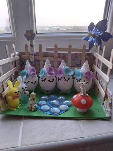 Eve's Easter Garden