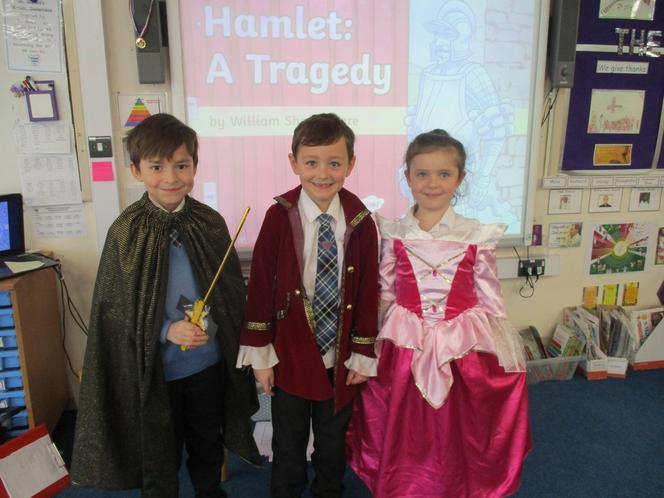 Laertes, Polonius & Ophelia