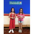 Lola & Ava, Y6 Sports Award