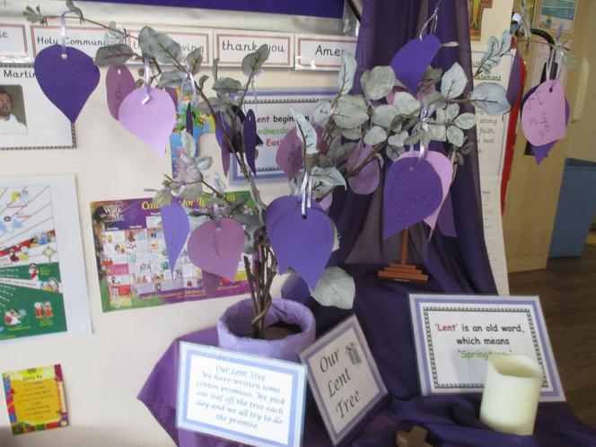 Our Lent Tree