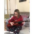Gene guitar practice