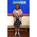 Michelle, Miss. Dermody Perseverance Award