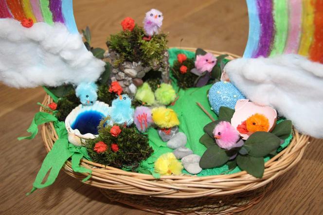 Natalia's Easter Garden