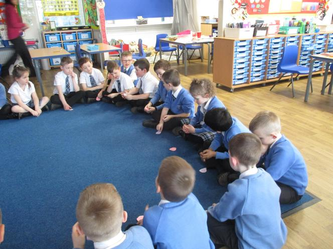 Talking about what we are going to do for Lent