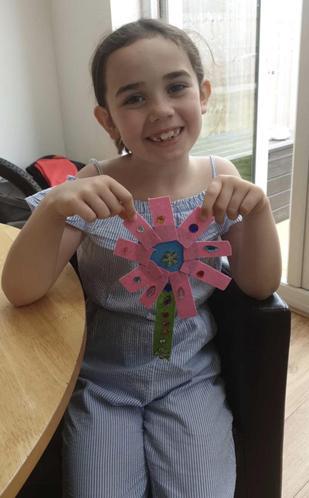 Elissia made beautiful flowers