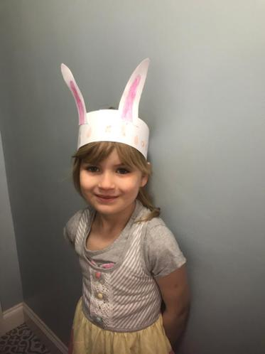 Annie's Easter hat