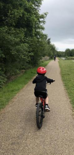 Max on a bike ride