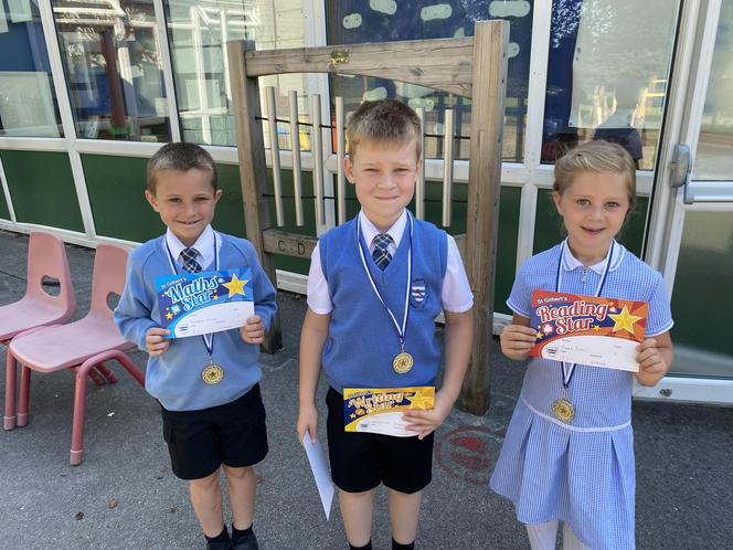 Reading, Writing and Maths Stars