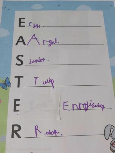 """Eve""""s Easter poem"""
