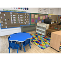 This is our maths area where the children have access to a variety of maths resources.