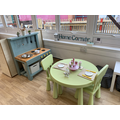 Our home corner is one of the children favourite places to explore and play.