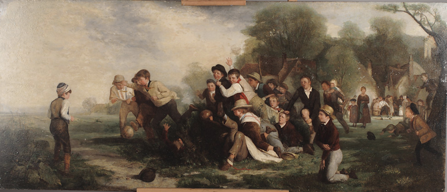 The Football Game, 1839