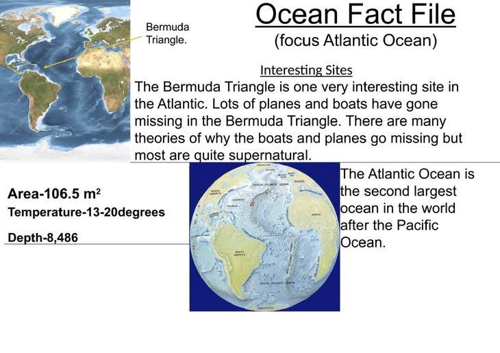 Oliver K.W's Atlantic Fact File