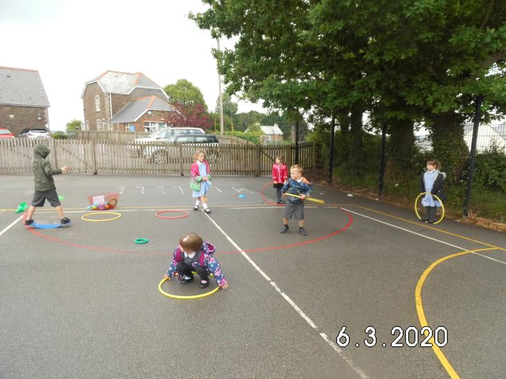 Reception bubble - Social distancing at Lunch Time