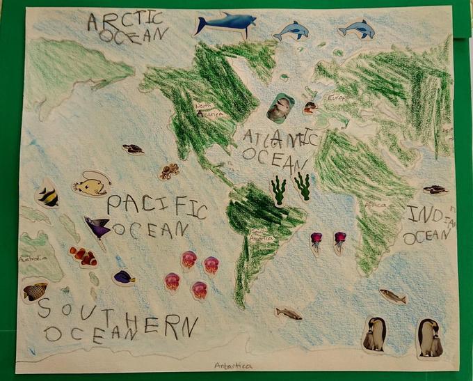 Holly's Ocean Map