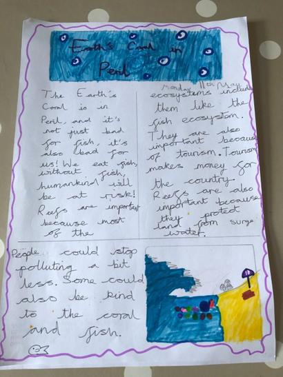 Alexia' s information doc on coral reefs