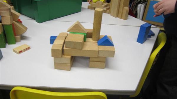 wooden block sculpture 005