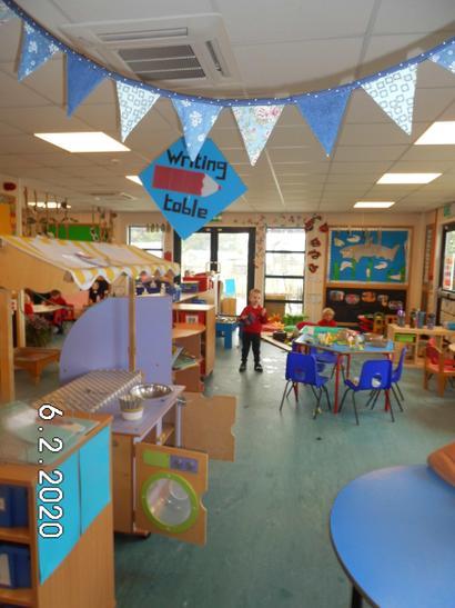 Blue Friendship bubble in Preschool