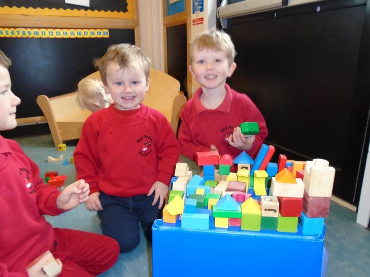 Building mud huts