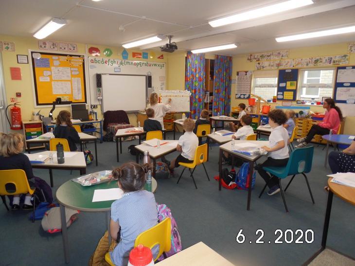 Social distancing in Class 1