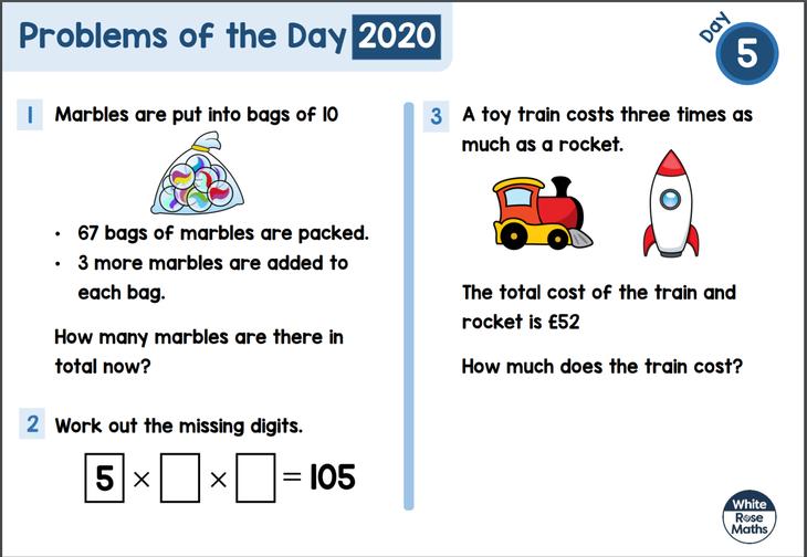 Key Stage 2 Maths Problem