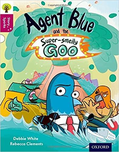 Alex has read Agent Blue and the Super Smelling Go
