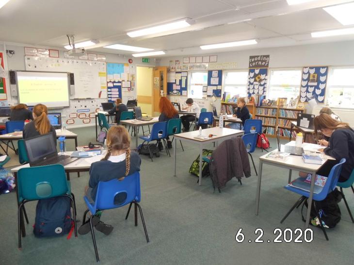 Social distancing in Class 3