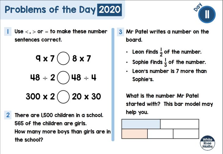 KS 2 Maths Problem