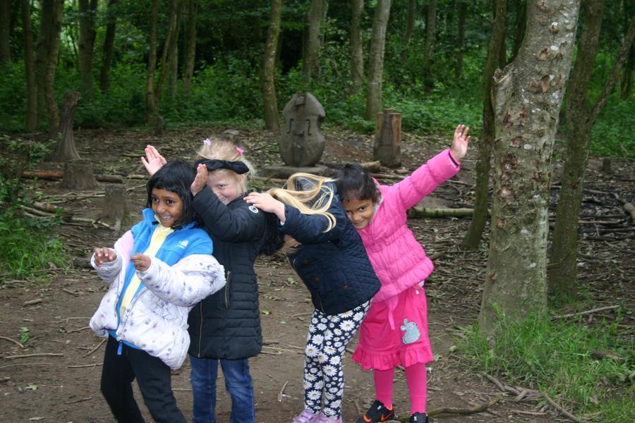 Teamwork at Forest Schools