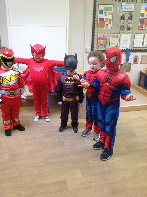 Nursery Superhero's