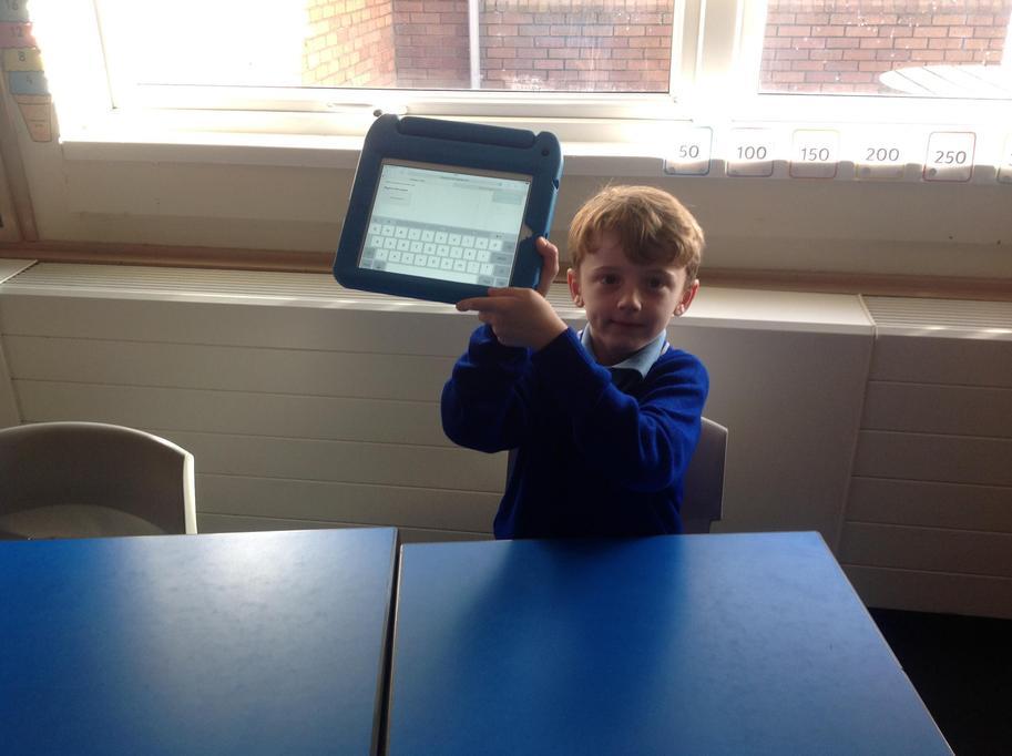 I am having fun writing down our blogs.