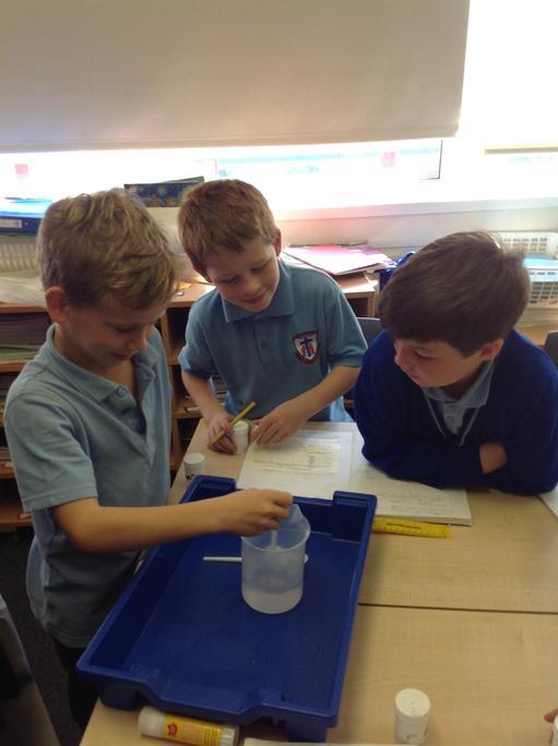 Investigating dissolving