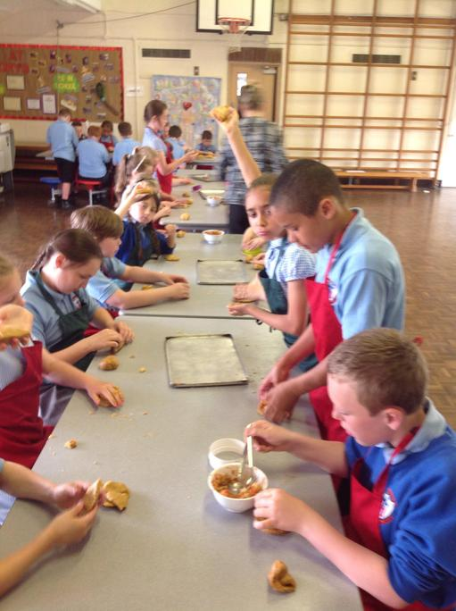 Year 5 made traditional Spanish food.