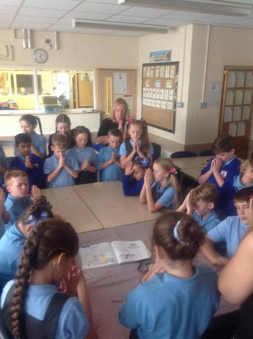 We asked God to help us to make good choices in Y5