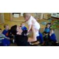 Darcie had fun in Nursery!